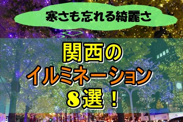 寒さも忘れるほどの景色に感動!関西のイルミネーション8選!