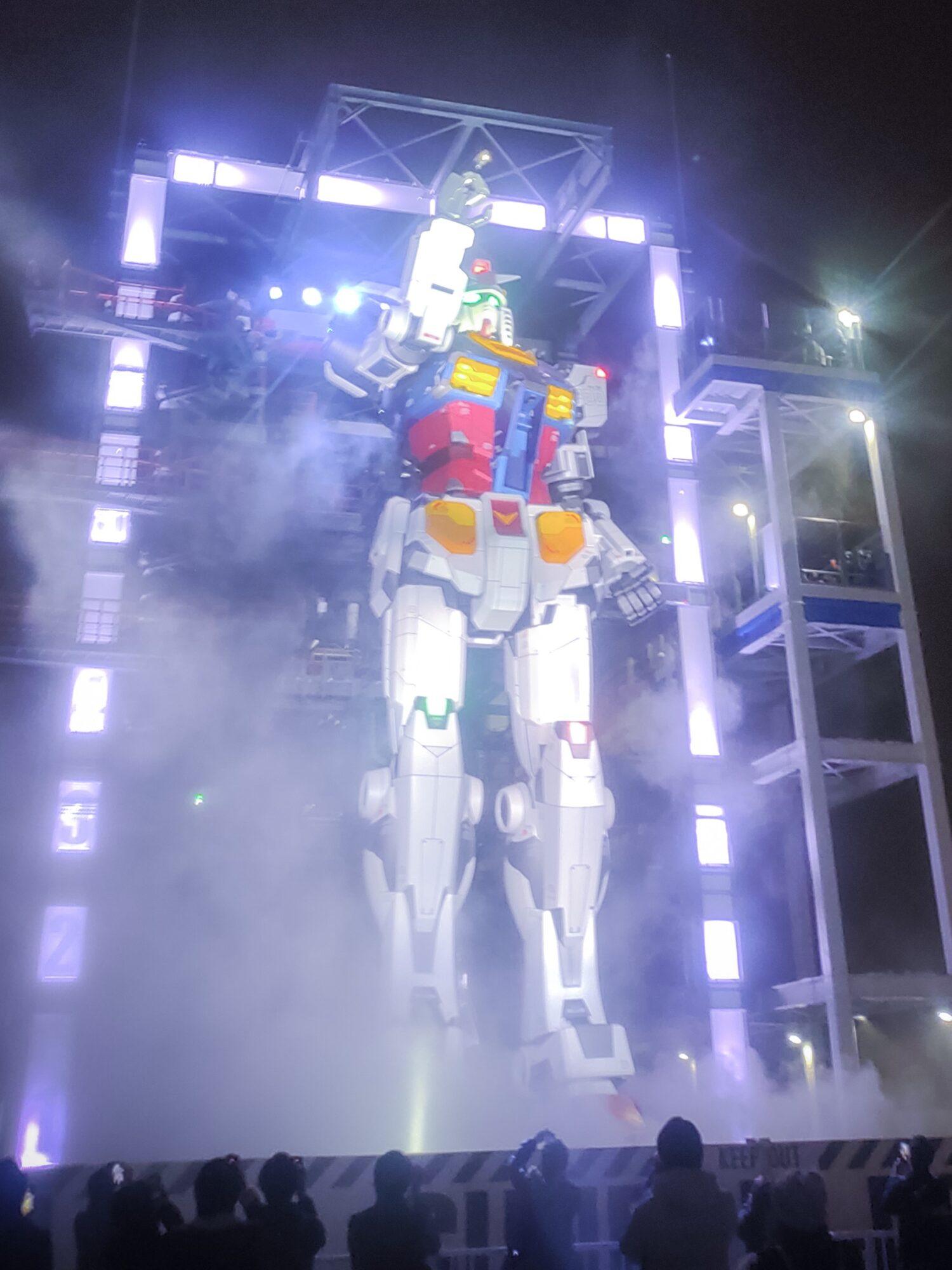 横浜の動くガンダムは女子でも楽しめる!見どころを紹介!!