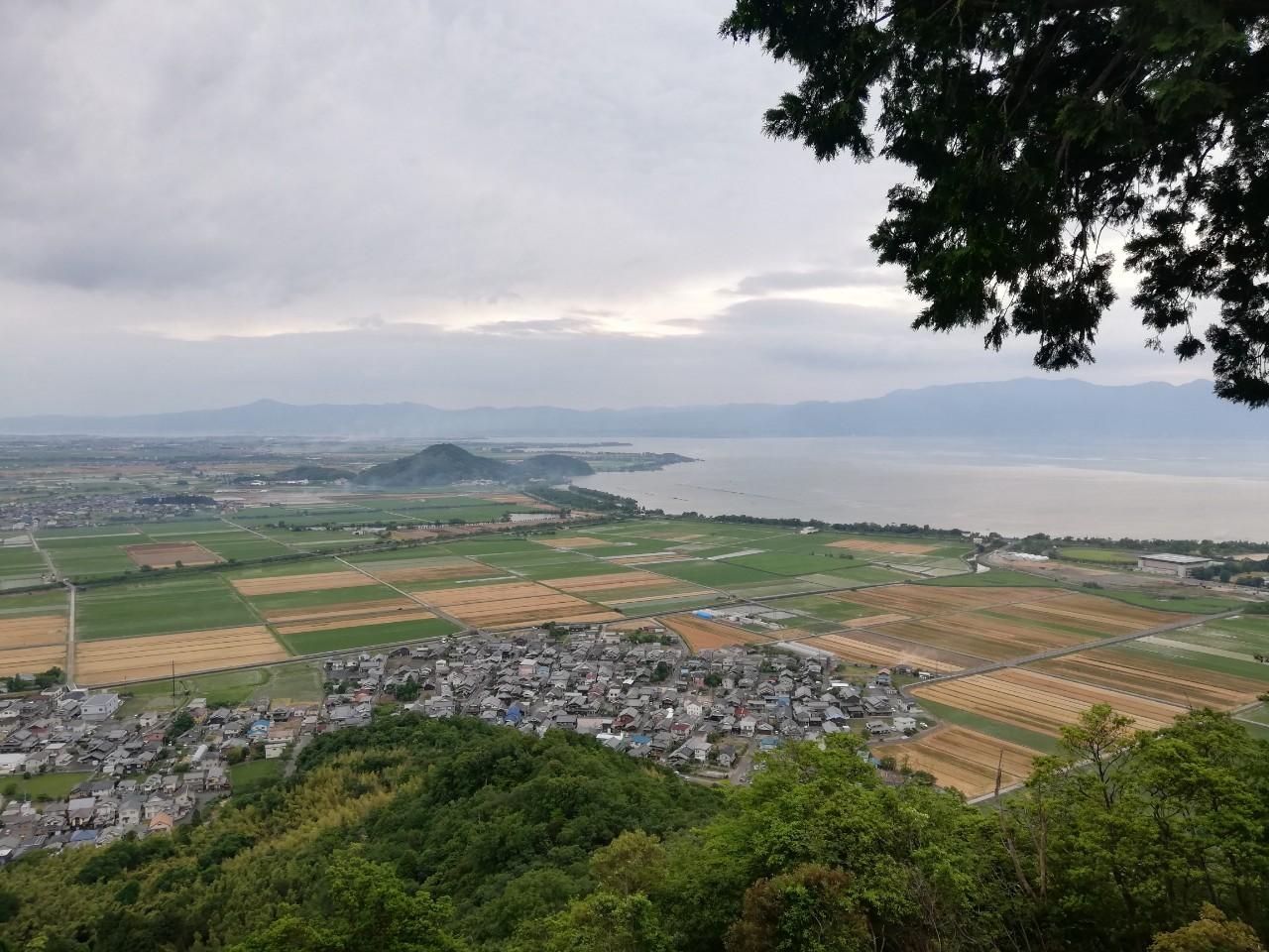 八幡山頂上絶景ポイント
