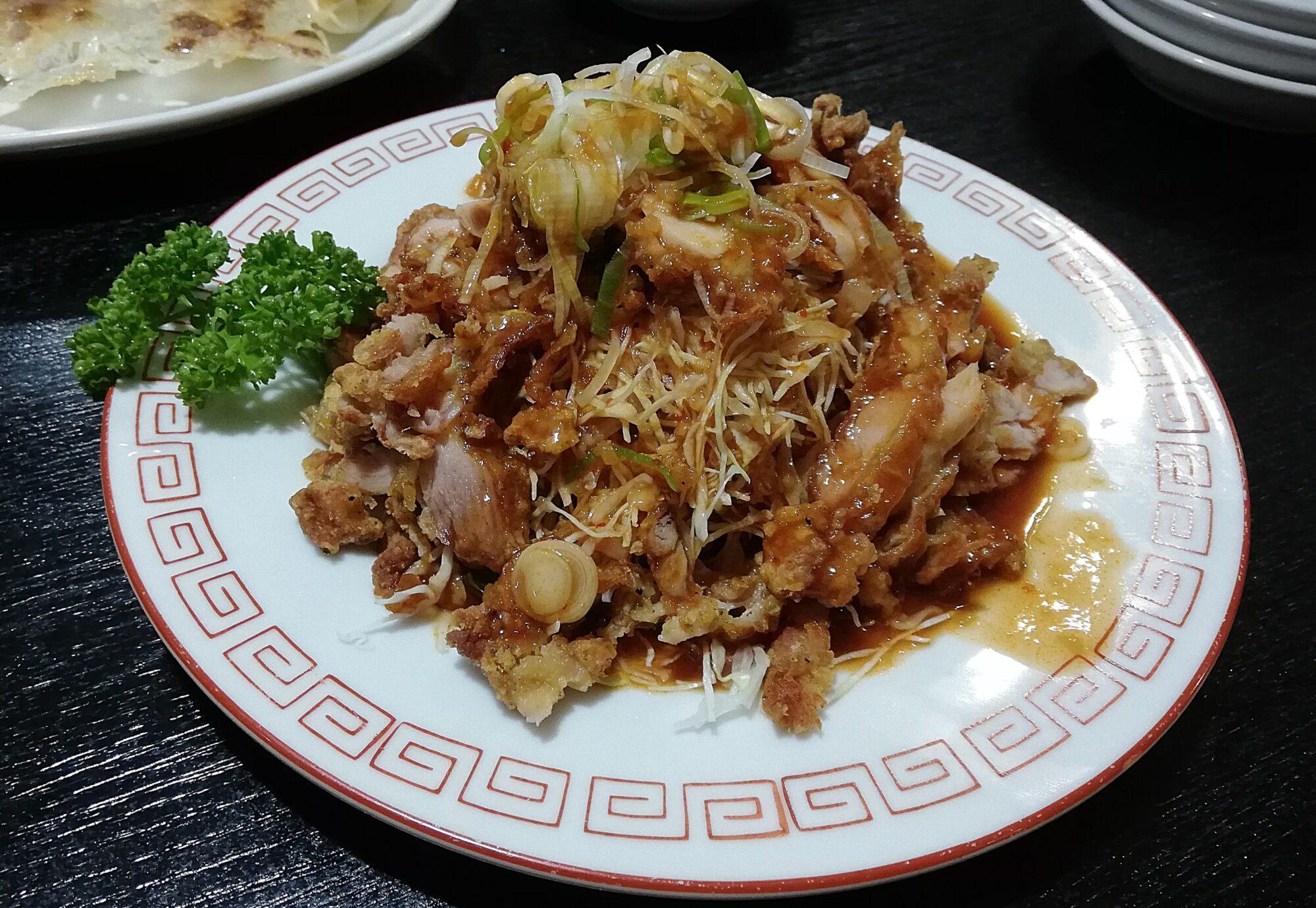 久香亭 油淋鶏