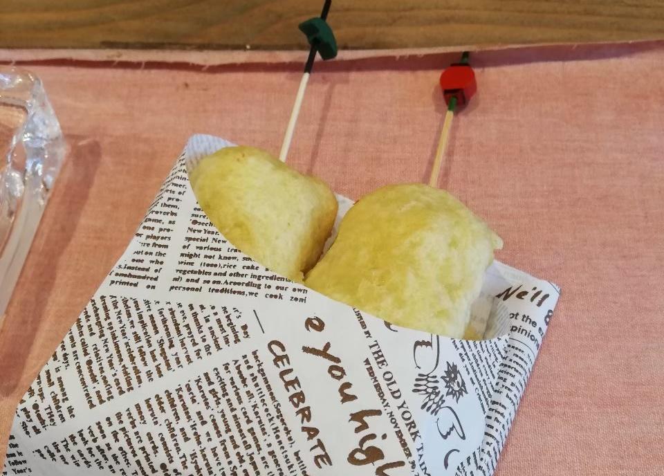 糸切餅の天ぷら